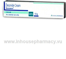 Desowen (Desonide 0.05%) Cream 15g/Tube